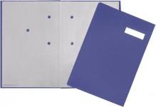Pagna Unterschriftenmappe in blau - Produktansicht