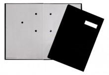 Pagna Unterschriftenmappe in schwarz - Produktansicht