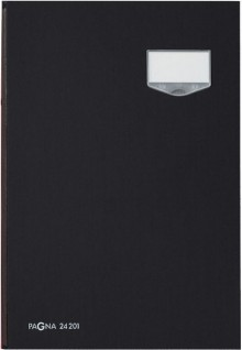 Pagna DE LUXE Unterschriftenmappe in schwarz