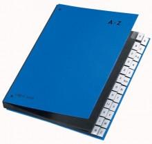 Pagna Pultordner in blau mit 24 Fächern