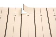 Trennblätter Easy Rip aus Kraft- karton, beige. Mit mikroperforieten