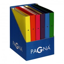 Ringbuch PP 25 mm, sortiert, 12er Pack, keine Farbwahl