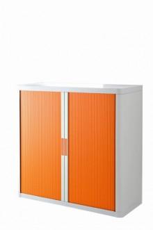 Rolladenschrank Stecksystem easyOffice weiss / orange 1m