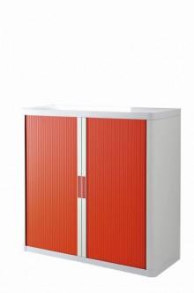 Rolladenschrank Stecksystem easyOffice weiss / rot 1m
