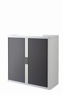 Rolladenschrank Stecksystem easyOffice weiss / anthrazit 1m