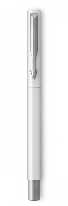 Vector Füllhalter Weiß C.C., Linienbreite Medium,