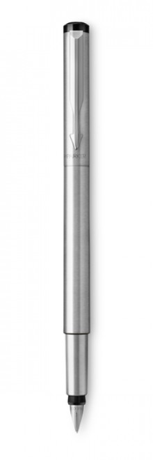 Vector Füllhalter Edelstahl C.C., Linienbreite Medium,