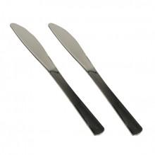 Messer PS metallisiert 20 cm silber