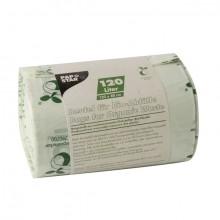 Kompostbeutel, Bio-Folie, 120l, 123 x 88 cm, grün, Stärke: 20my
