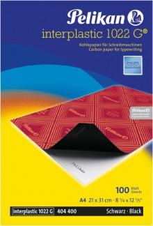 Kohlepapier mit Wachsfarbschicht DIN A4, schwarz