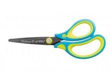 Schere Griffix SC1RBS neon fresh blau, für Rechtshänder, spitz