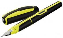 Style Füllhalter P57 Feder M, incl. Tintenpatrone, Neon Gelb