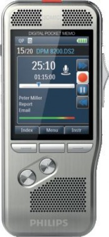 Digitales Diktiergerät Pocket Memo DPM8200/01