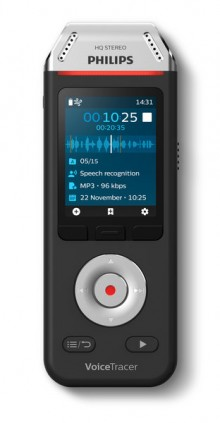 Digital Voice Tracer DVT2810 Audio- recorder mit Spracherkennungssoftware