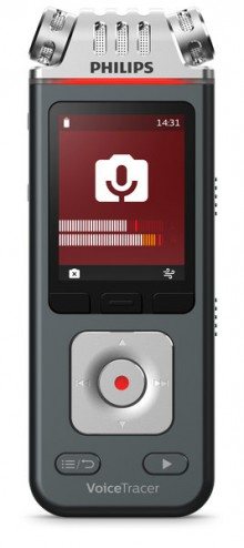 Digital Voice Tracer DVT110 Audio- recorder mit Videoaufnahme Kit