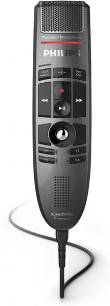 Diktiermikrofon SpeechMike Premium LFH3500, integrierter Lautsprecher