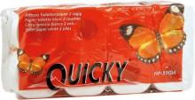 "Toilettenpapier ""Quicky"" 2-lagig Zellstoffpapier geprägt"