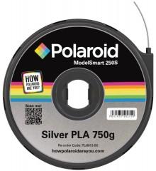 PLA Filament silber 750gr Allzweck-kompostierbarer Kunststoff