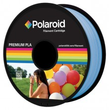 Universal PLA Filament transparent hellblau 1.000gr