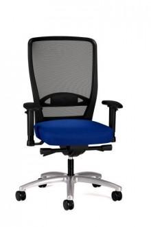 Bürodrehstuhl Younico pro 3476 Bezug: Lucia 6062 blau