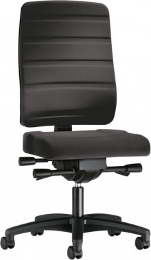 Bürodrehstuhl Yourope 4852 schwarz Komfortpolstersitz, Gewichts-