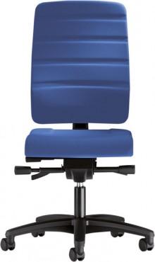 Bürodrehstuhl Yourope 4852 saphirblau Komfortpolstersitz, Gewichts-