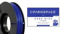 PLA Filament blau 326gr, 1,75mm Temperaturbereich 190 - 220 °C