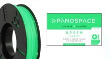 PLA Filament grün 326gr, 1,75mm Temperaturbereich 190 - 220 °C