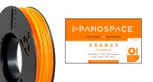 PLA Filament orange 326gr, 1,75mm Temperaturbereich 190 - 220 °C