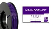 PLA Filament lila 326gr, 1,75mm Temperaturbereich 190 - 220 °C