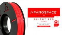 PLA Filament rot 326gr, 1,75mm Temperaturbereich 190 - 220 °C