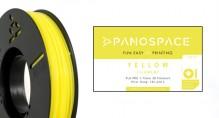 PLA Filament gelb 326gr, 1,75mm Temperaturbereich 190 - 220 °C
