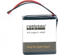 Akku für mobilen Einsatz des Banknatenprüfgerätes Soldi Smart