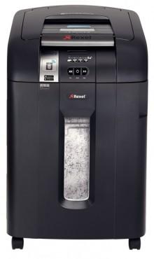 Rexel Auto+ 600X SmarTech Aktenvernichter in schwarz