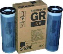 Tintenpatrone schwarz für GR Modelle 2x1000ml