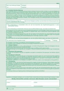 Anstellungsvertrag A4 2x2Bl. SD für kaufmannische Angestellte