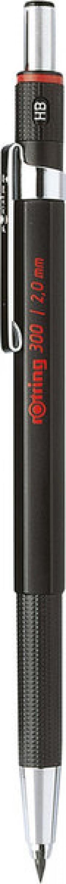NWL Rotring 300 Fallminenstift 2.0mm Oberfläche schwarz
