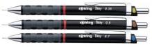 Feinminenstift Tikky Redesign 3er-Etui 0,35-0,5-0,7mm, Colour-Code