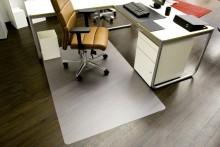 PET-Bodenschutzmatte Hartböden 1,20 x 2,40 m (O), 1,80 mm Stärke