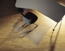 Bodenschutzmatte für Hartboden 1,20 x 0,90 m (O), 2,00mm