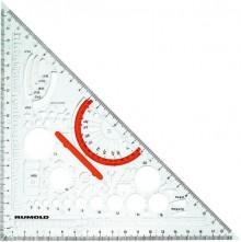 Rumold Techno-Dreieck aus Makrolen Für Feinminenstift 0,5mm.