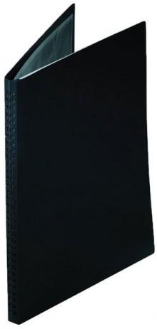 Präsentationsbuch A4, 20 Hüllen, schwarz, Polypropylen