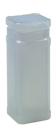 Block Pack m. TwistLock, 200-350mm transparent 65mm innen, PE,