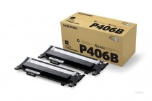 Toner CLT-P406B, schwarz, TwinPack für CLP-365, CLP-365W, CLX-3305,