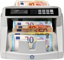 Banknotenzähler 2465-S, grau, 7fache Falschgelderkennung, zählt bis zu
