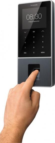 """Zeiterfassungssystem TimeMoto TM-828 3,8"""" TFT Display, f. 1200 Benutzer,"""