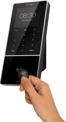 """Zeiterfassungssystem TimeMoto TM-838 3,8"""" TFT Display, f. 1200 Benutzer,"""