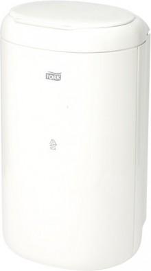 Abfallbehälter Mini 5l, weiß, Kunststoff, Maße:B190xH338xT160