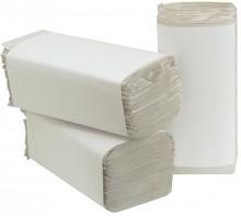 Falthandtuch Naturel Recycling, 23x25cm Zickzackfalzung,1-lagig