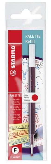 Nachfüllmine Palette, 0,4 mm (F), rot
